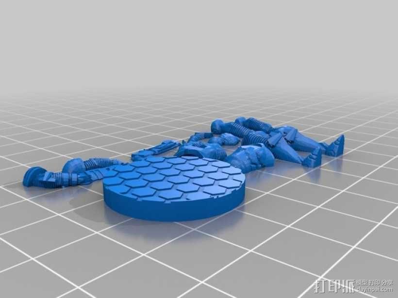 游戏造型 战士 3D模型  图11