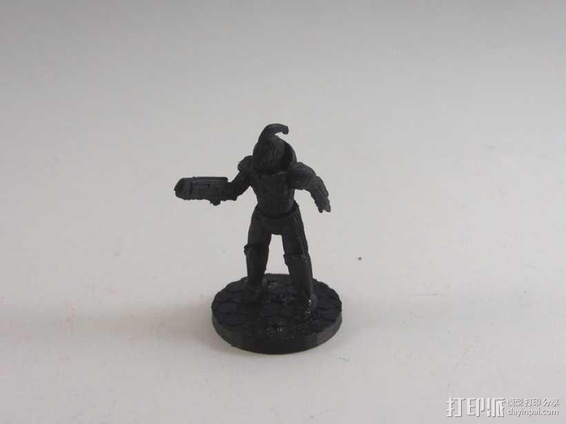游戏造型 战士 3D模型  图12