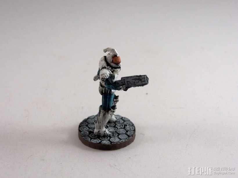 游戏造型 战士 3D模型  图15