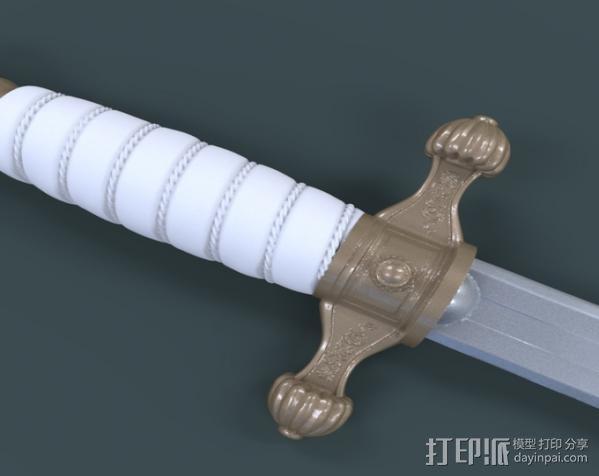 匕首 3D模型  图4