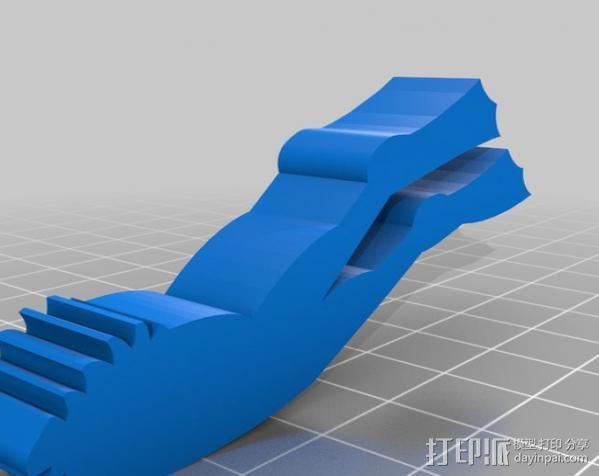 进击的鲨鱼 3D模型  图2