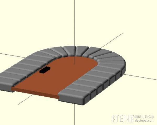 石门 3D模型  图5