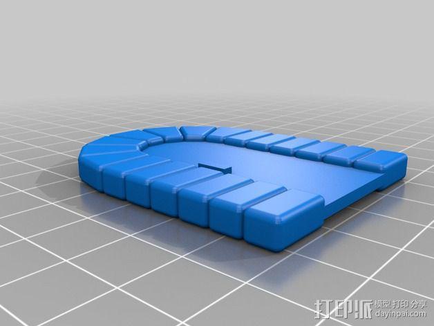石门 3D模型  图3