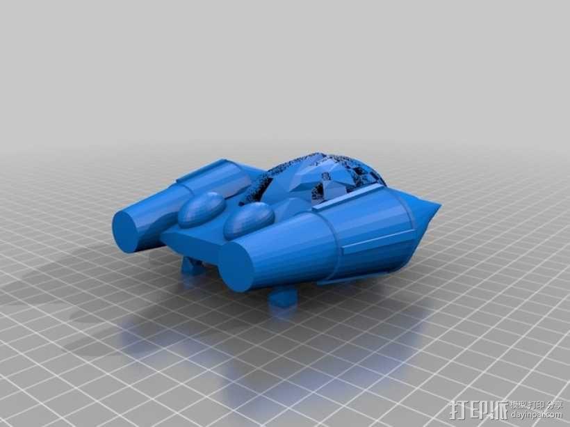 通信飞船 3D模型  图4