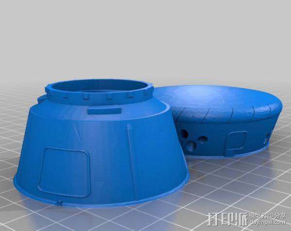 时光机 3D模型  图4