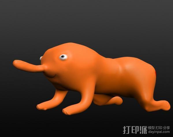 木偶 玩偶  3D模型  图1