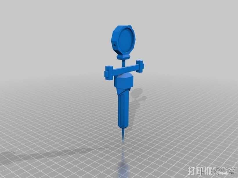 辐射新维加斯注射器 3D模型  图2