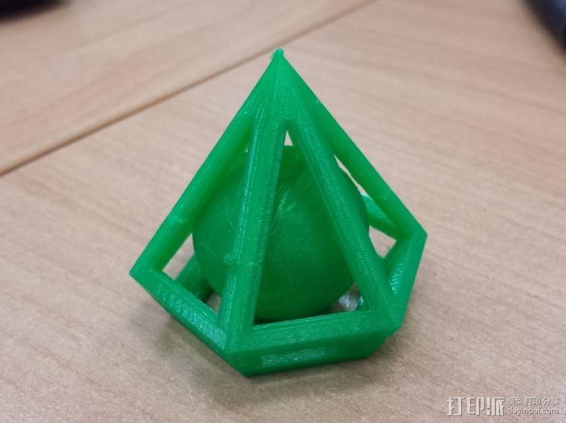 钻石 小球 3D模型  图3