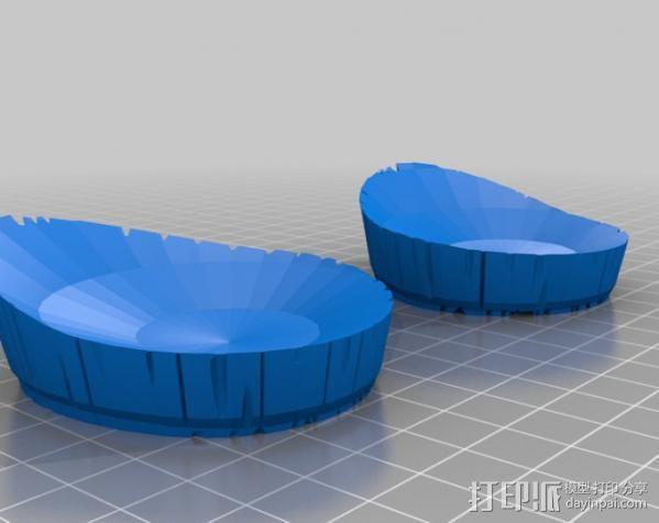 地狱男爵的角 3D模型  图8