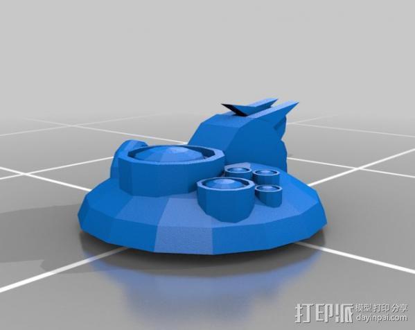 采集机 3D模型  图3