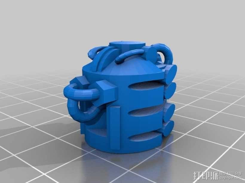 采集机 3D模型  图12
