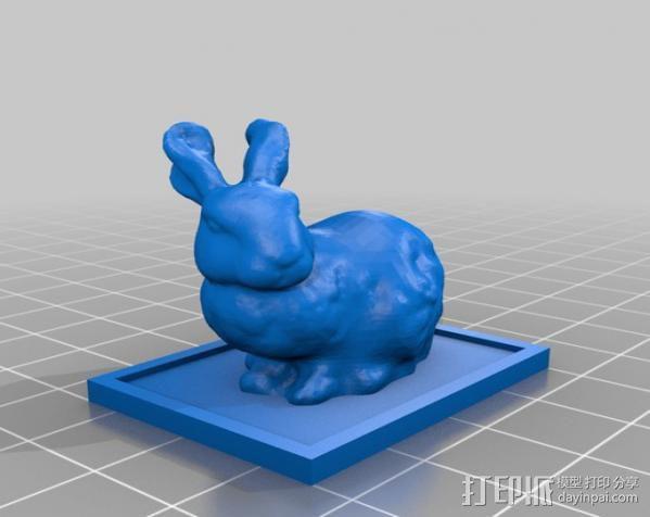 兔子 3D模型  图2