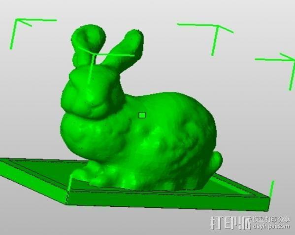 兔子 3D模型  图3