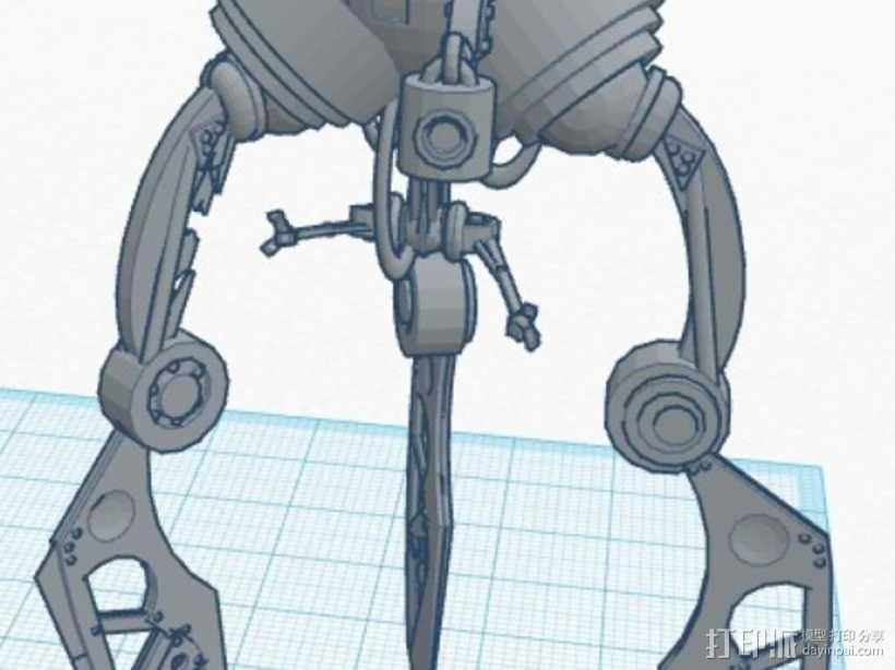 蜘蛛机器人 3D模型  图4