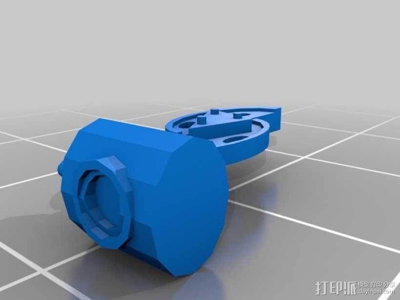 蜘蛛机器人 3D模型  图7