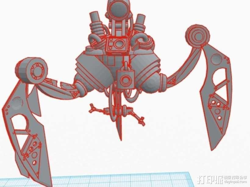 蜘蛛机器人 3D模型  图5