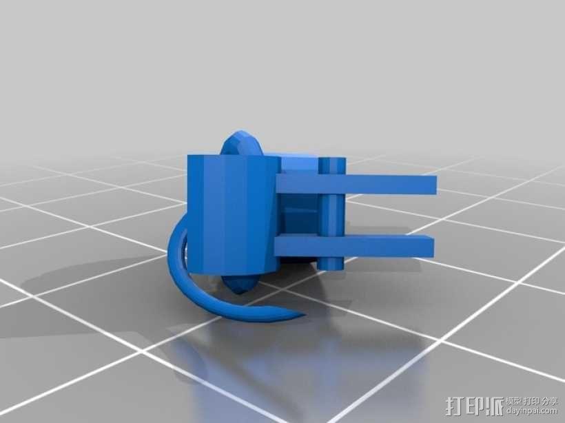 蜘蛛机器人 3D模型  图9