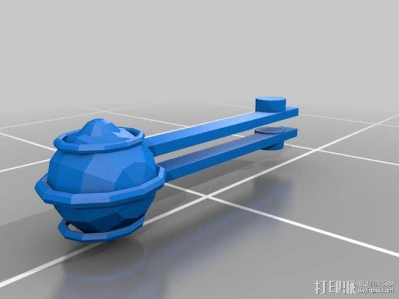 蜘蛛机器人 3D模型  图13