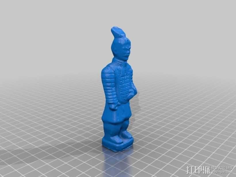 兵马俑 3D模型  图1