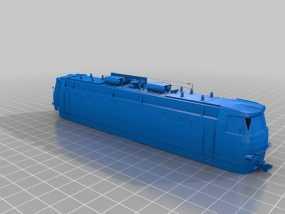CHS4火车头 3D模型