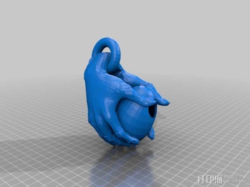 鸟屋 3D模型  图1