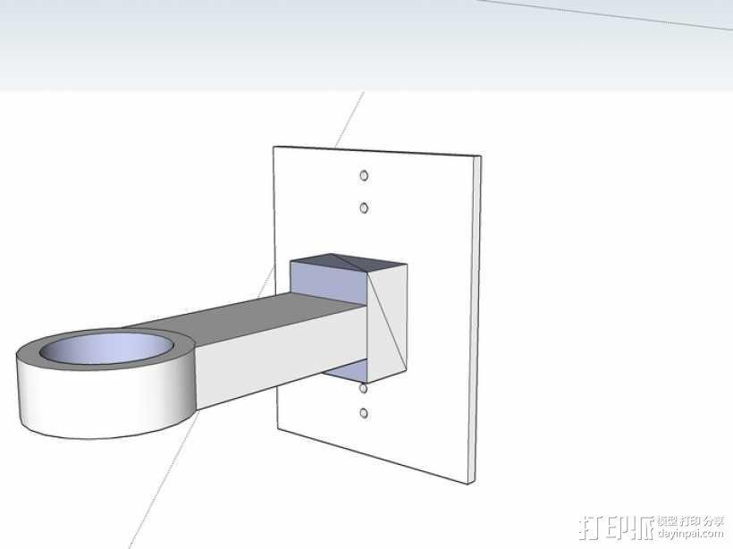 拖车 鸟屋 3D模型  图4