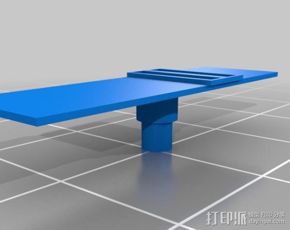 拖车 鸟屋 3D模型  图3
