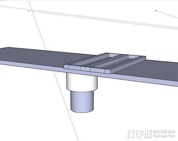 拖车 鸟屋 3D模型  图6