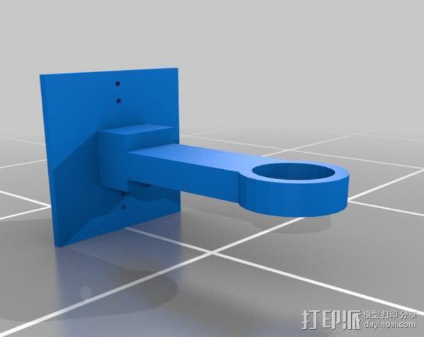 拖车 鸟屋 3D模型  图5