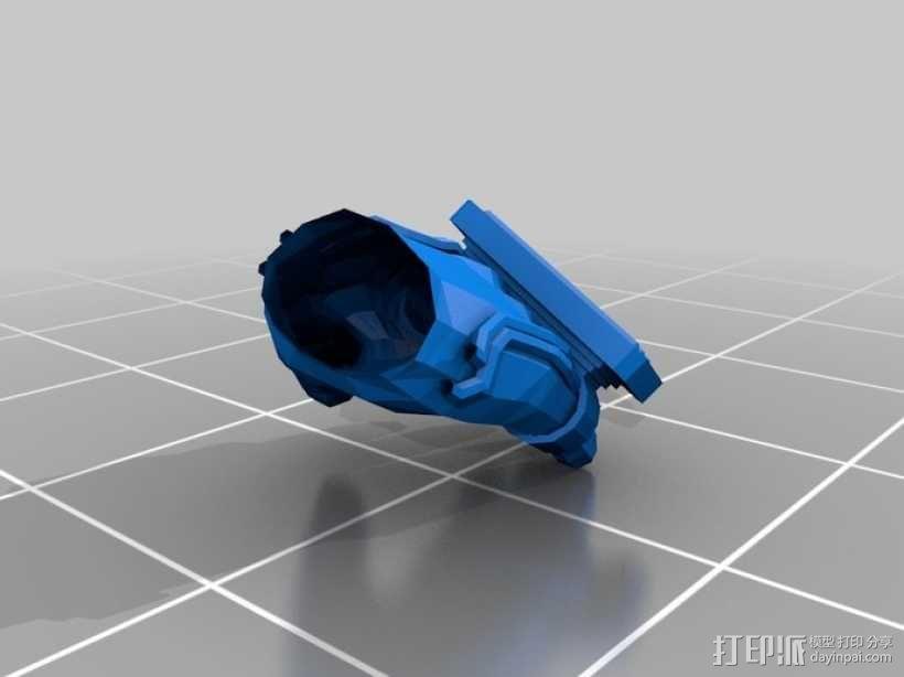 新维加斯拳套 3D模型  图1