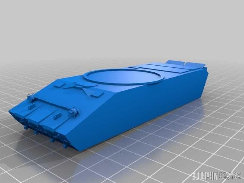 T-90坦克 3D模型  图1