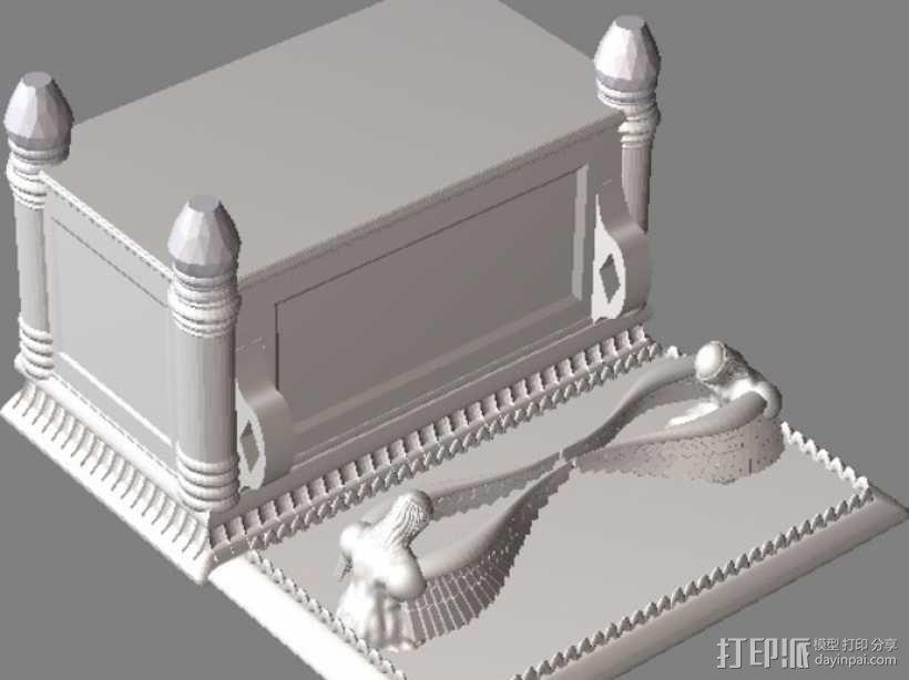 约柜 盒子 3D模型  图1