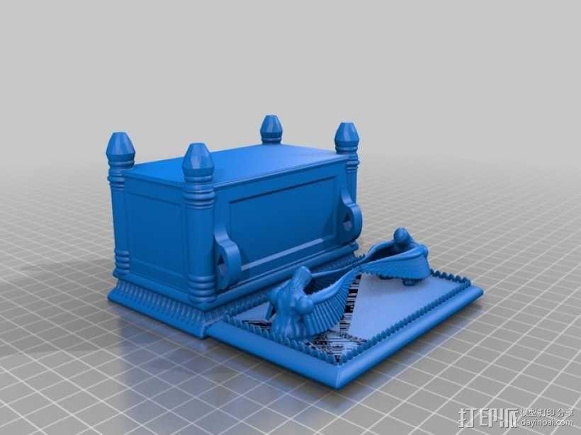约柜 盒子 3D模型  图2