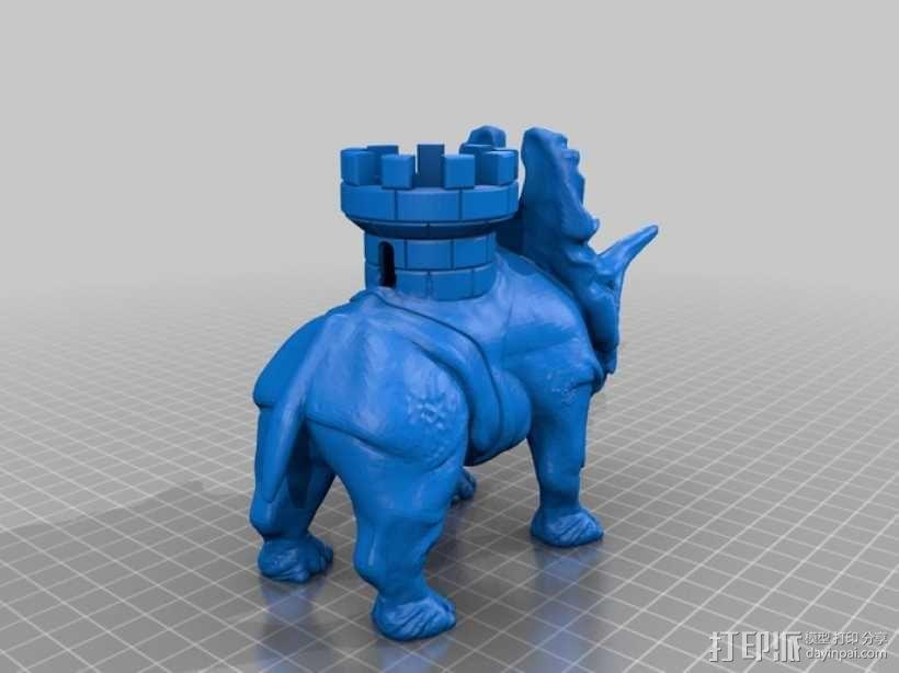 恐龙 3D模型  图3