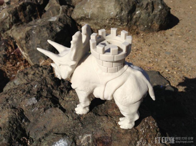 恐龙 3D模型  图4