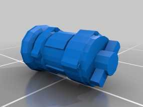 新维加斯脉冲手雷 3D模型