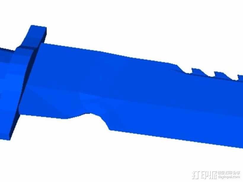 新维加斯匕首 3D模型  图3