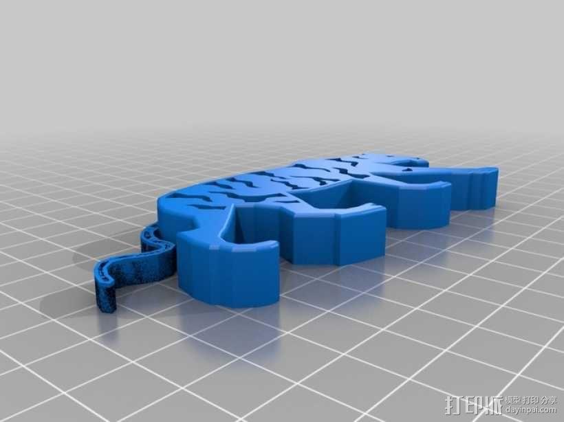 老虎 3D模型  图1