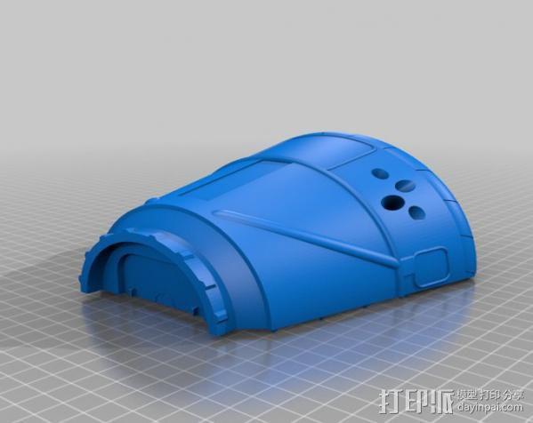 飞船 3D模型  图3