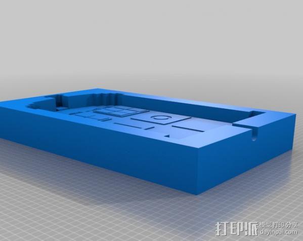 塔迪斯警察亭制作模具 3D模型  图3