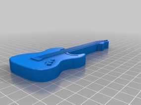 电吉他 3D模型