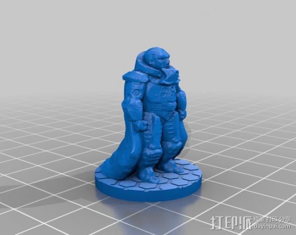 裁判官 Kail 3D模型  图3