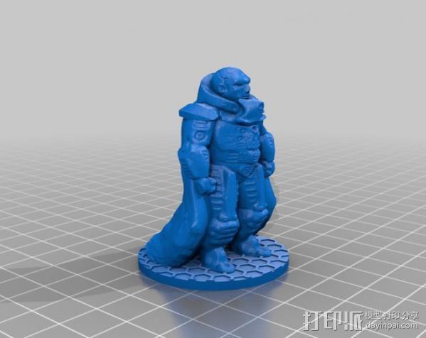 裁判官 Kail 3D模型  图5