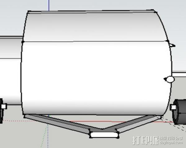 大篷车鸟屋 3D模型  图12