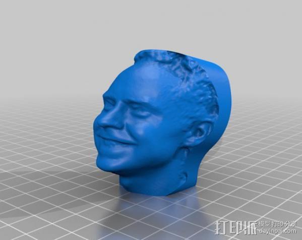 写实人物雕像 3D模型  图4