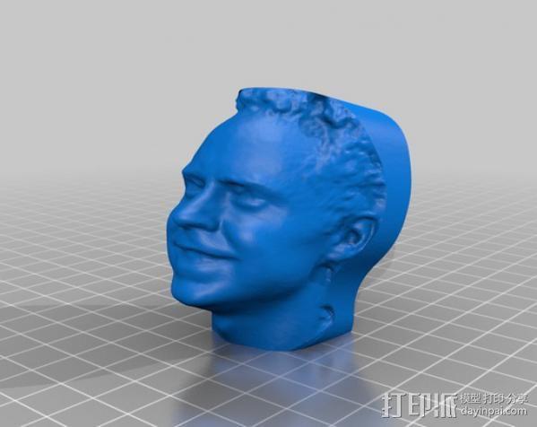 写实人物雕像 3D模型  图6