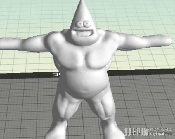 派大星 3D模型  图5