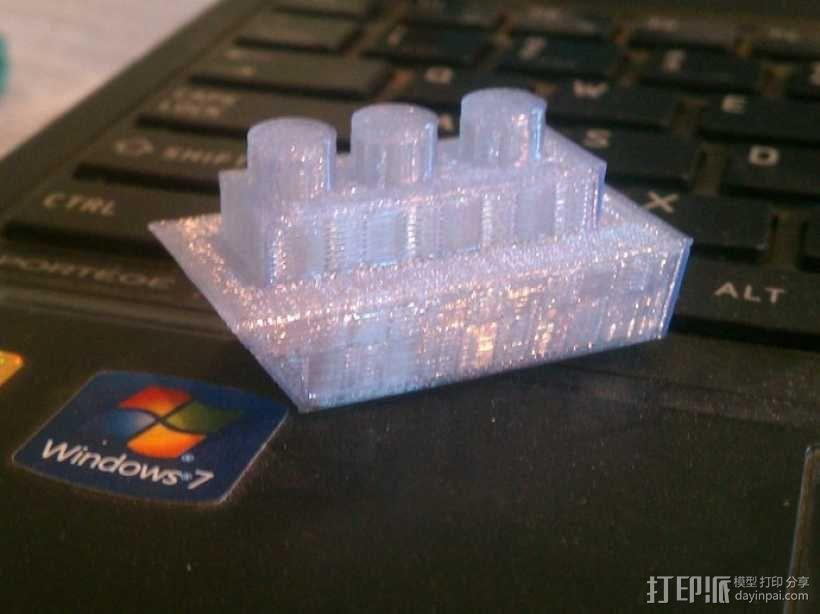 小船 3D模型  图1
