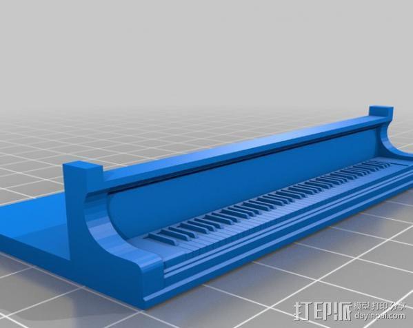 钢琴 3D模型  图3