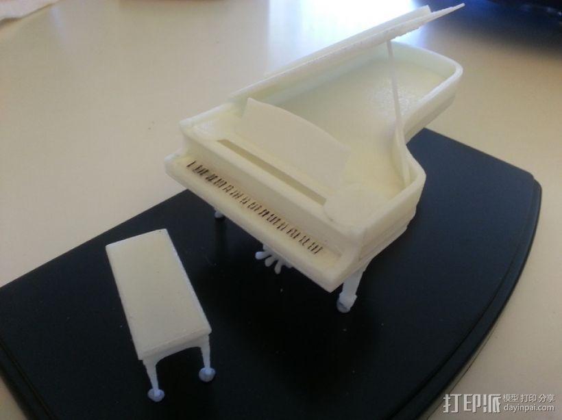 钢琴 3D模型  图2